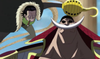 Crocodile Tries to Kill Whitebeard