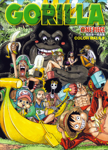 One Piece Color Walk 6 Gorilla