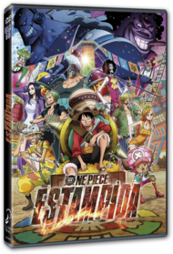 One Piece Estampida DVD España