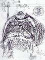 Primer boceto de Broggy