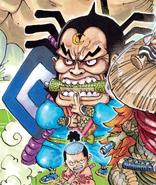 Raizo Manga Color Scheme