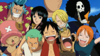 Straw Hat Pirates as a Family