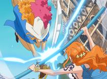Wanda ataca a Nami