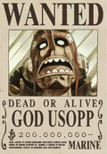 Actual recompensa de Usopp