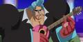 Franky et sa guitare Anime