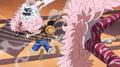 Monkey D. Luffy vs. Donquixote Doflamingo