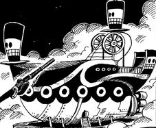 Space Pirates' Ship