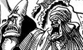 Abdullah et Jeet adulant Usopp