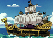 Eldoraggo's Ship