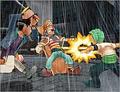 Grand Battle 3 Baggy vs Zoro
