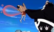 Kuma Menghilangkan Rasa Sakit Luffy