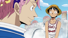 Luffy And Koby Reunited