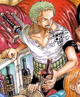 Roronoa Zoro Manga Debut Infobox