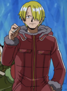Sanji's Ice Hunter Arc Outfit