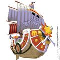 Thousand Sunny One Piece Unlimited Adventure Wii