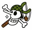 Usopp's Pre Timeskip Jolly Roger