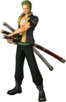 Zoro Pre Timeskip Pirate Warriors 3