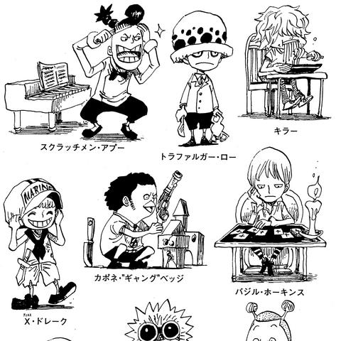 I pirati della peggiore delle generazioni da bambini