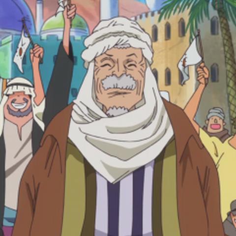 L'aspetto di Toto quando incontra i Pirati di Cappello di paglia