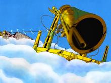 Luffy Rings Shandorian Bell