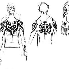 I suoi tatuaggi