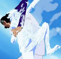 Aokiji vs Luffy