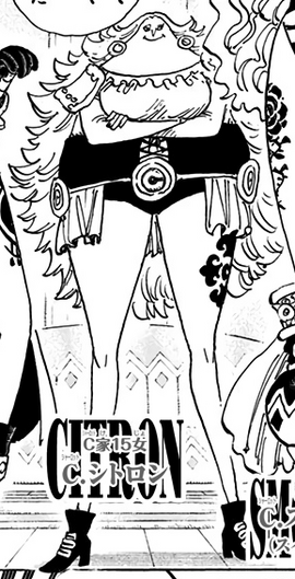Charlotte Citron Manga Infobox