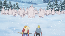 Lapahns Menghadapi Sanji dan Luffy