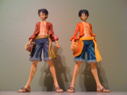 Master Stars Piece Monkey D. Luffy Versions