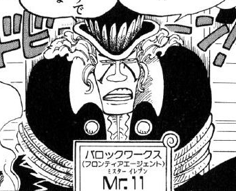 Mr. 11 Manga Infobox