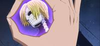 Viola utilise sa clairvoyance sur Sanji