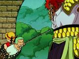 One Piece: La Película/Enfrentamientos