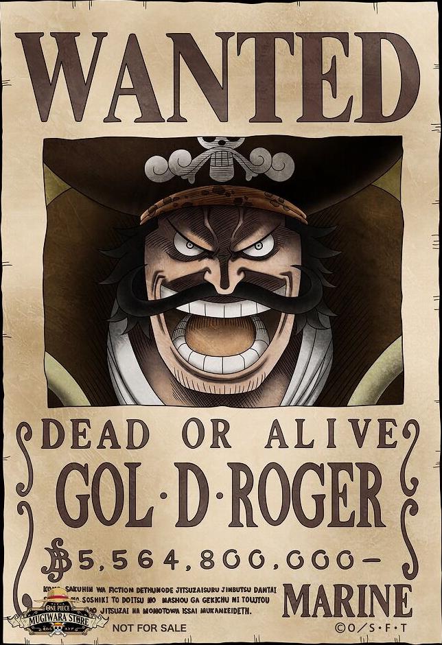 100 Karakter One Piece Dengan Bounty Terbesar. dan Wanted Posternya
