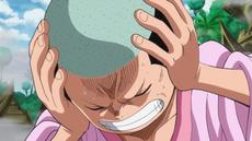 Momonosuke escucha a Zunisha