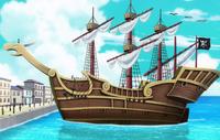 Pirati del Rosso prima nave