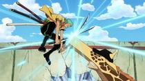 Zoro vs. Giraffe Kaku