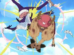 Gedatsu sconfitto