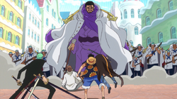 Luffy Faces Issho