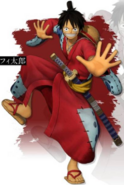 Luffy Wano Pirate Warriors 4