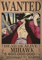 Mihawk-wanted