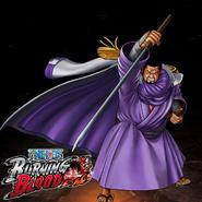 One Piece Burning Blood Admiral Fujitora (Artwork)
