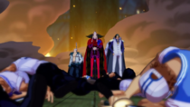 Patrick Redfield, Kuzan, and Smoker Defeat the Marines