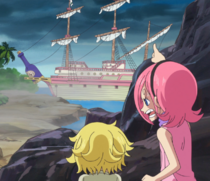 Reiju Helps Sanji Escape-0