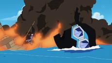 Sabo Explosion Wreckage