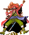 Usopp's Outfit Color Walk 4