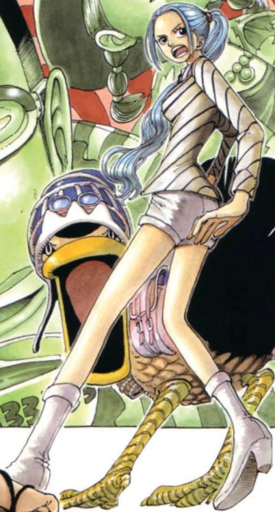 Vivi's Little Garden Arc Manga Color Scheme