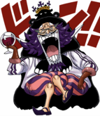 Wapol Digitally Colored Manga Post Timeskip