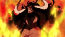 Kaido dans le Flashback de Momonosuke