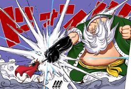 Luffy vs Chinjao