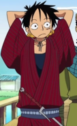 Luffy Boss Luffy Historical Arc Outfit